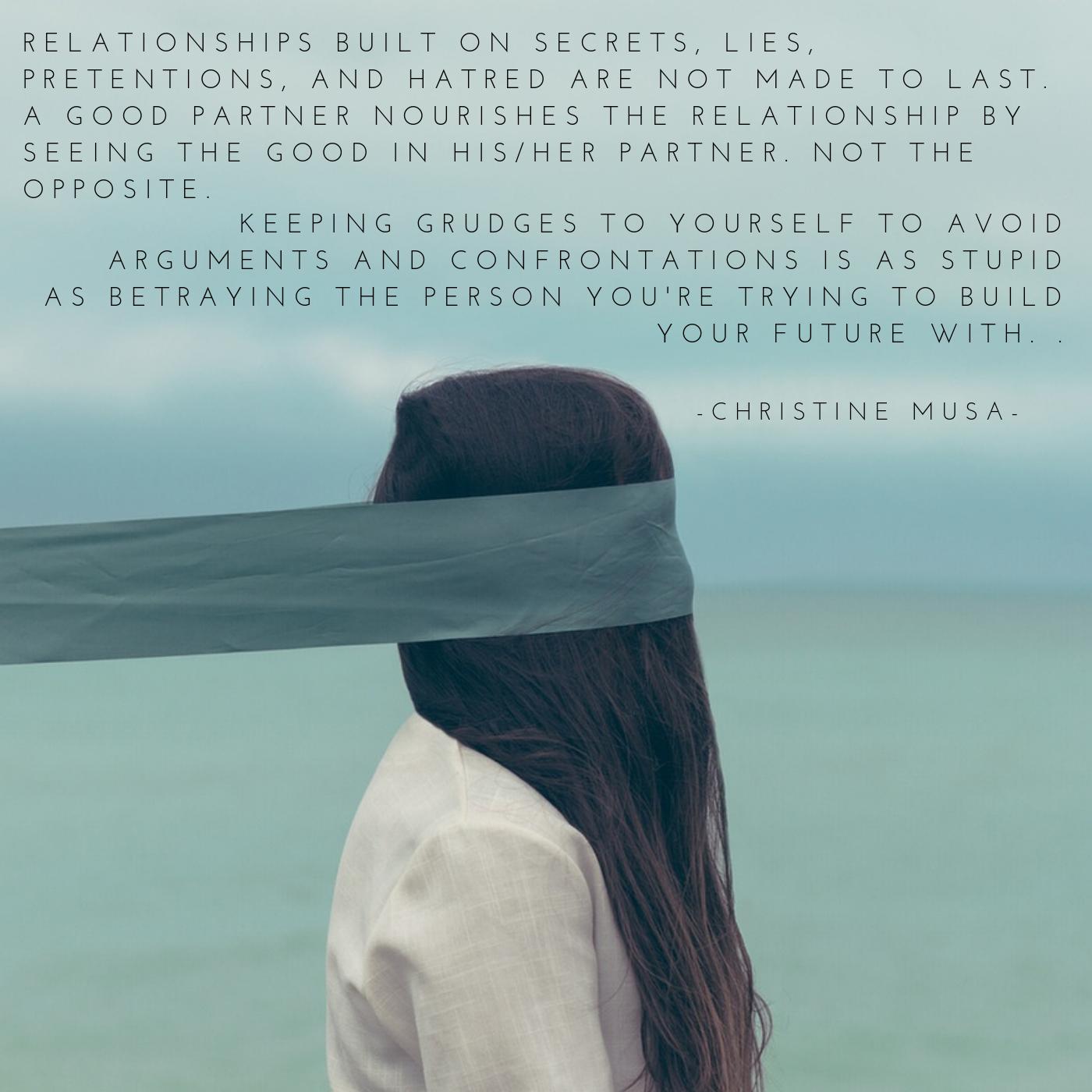 Relationships Built on Secrets