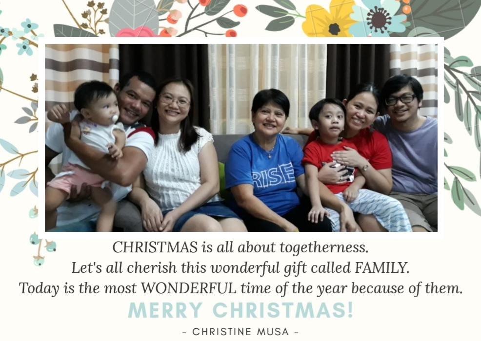 Christmas Is All About Togetherness