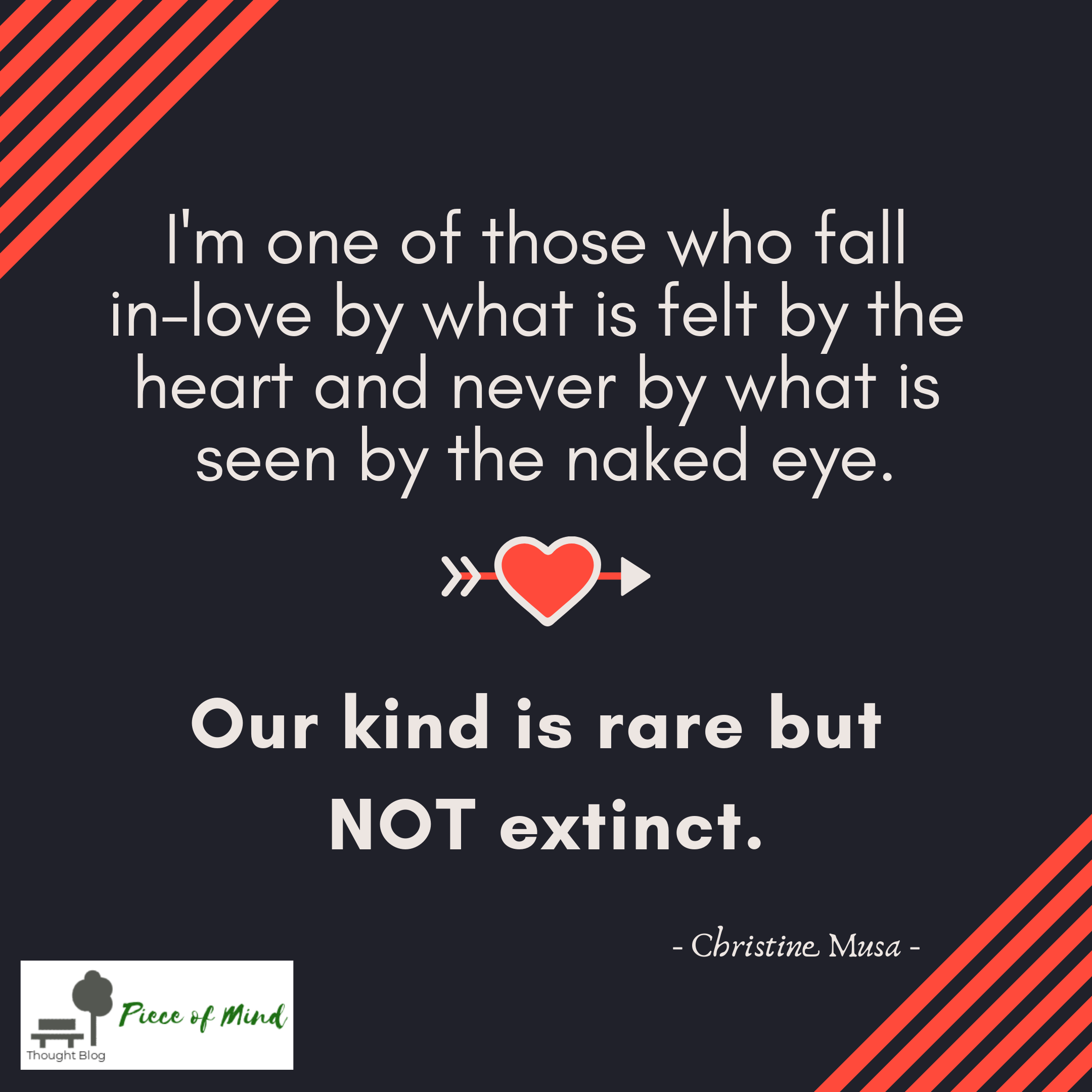 Our Kind Is Rare But Not Extinct