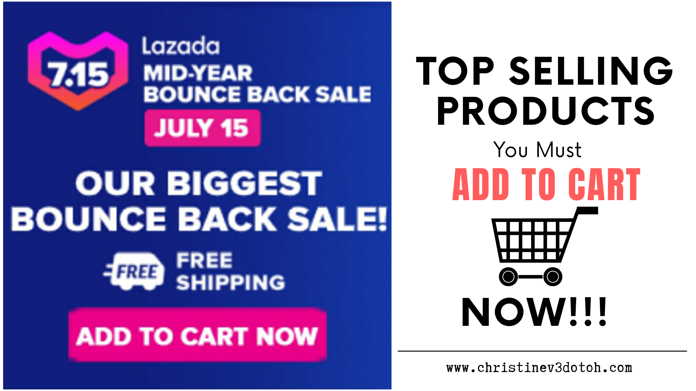 Top Selling Products You Must Add to Cart Now for Lazada Mid-Year Bounce Back Sale (July 15, 2020)